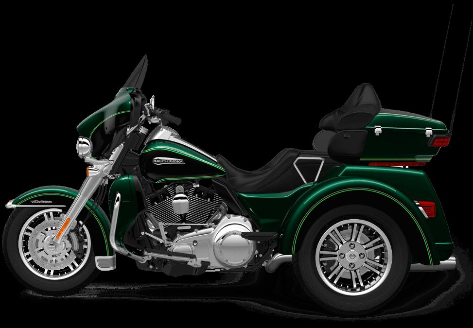 2016 Harley Davidson Trike Tri Glide Ultra: The 2016 Harley-Davidson Tri Glide® Ultra Provides Three