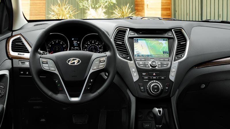2016 hyundai santa fe sport technology features. Black Bedroom Furniture Sets. Home Design Ideas