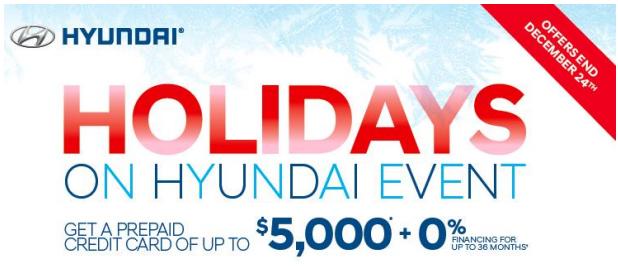 hyundai holiday program