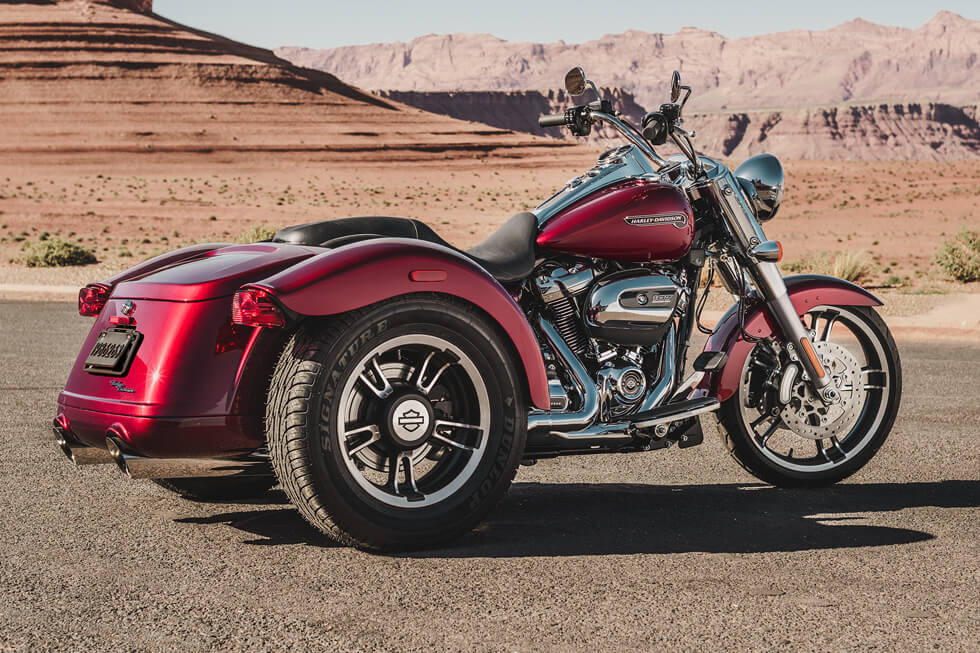 2016 Harley Davidson Tri Glide Trike Three Wheeler For: Harley-Davidson® Freewheeler™: Three-Wheeled Performance