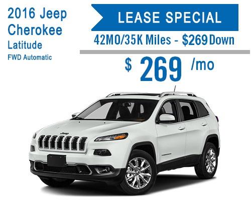 Jeep Cherokee Incentive at Schlossmann Dodge City Chrysler Jeep ram