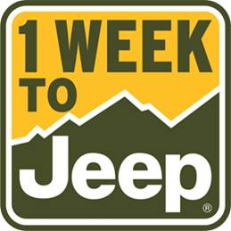 One Week to Jeep