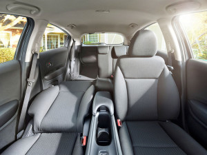 The 2017 Honda HR-V features the Honda Magic Seat