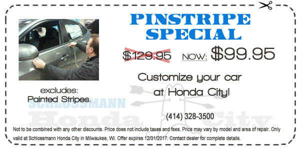 Honda City Pinstripe Special