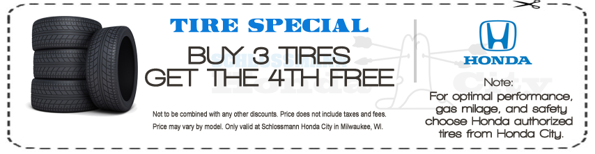Honda City Tire Coupon