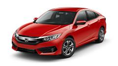 Honda Civic Sedan with Honda Sensing Active Safety Features