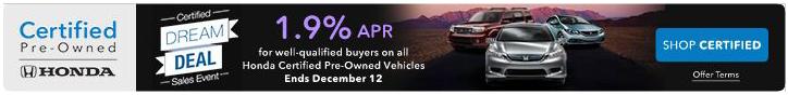 Honda City Dream Deal Sales Event