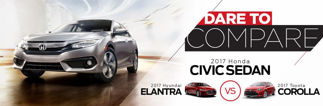 2017 Civic Dare To Compare