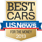 2013 Best Cars for the Money award
