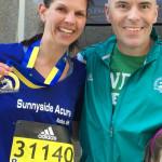 Sunnyside Acura Boston Marathon runner Amanda