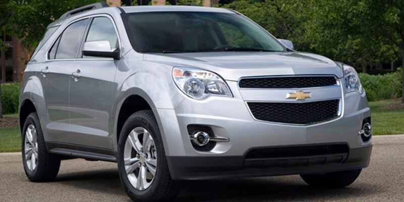 2012 Chevrolet Equinox up close