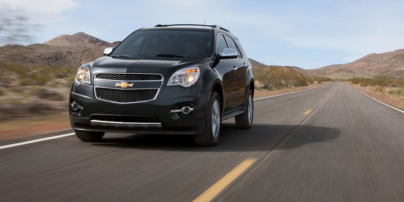 2013 Chevy Equinox LTZ dark exterior model