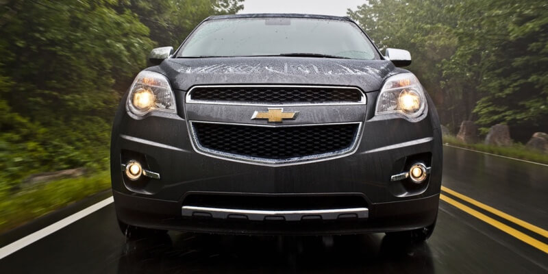 2014 Chevrolet Equinox LTZ front view up close
