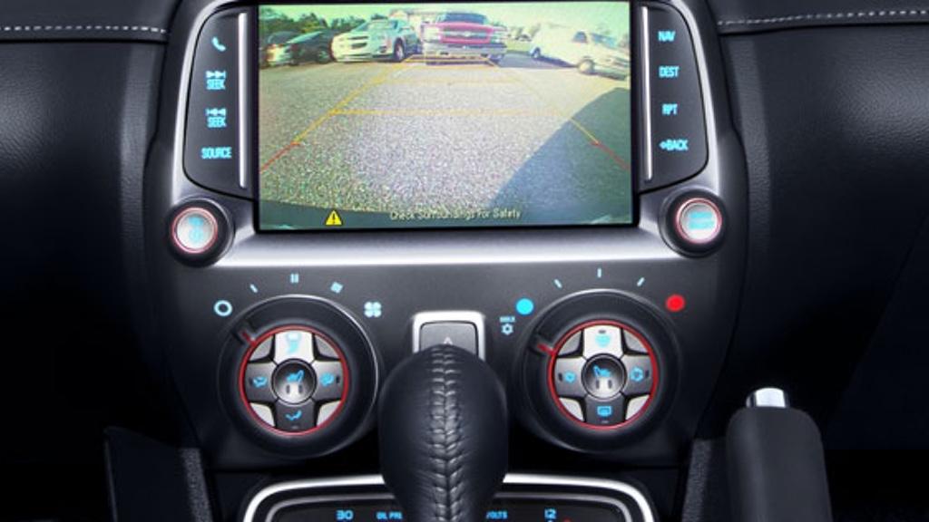 2015 Camaro Convertible Safety