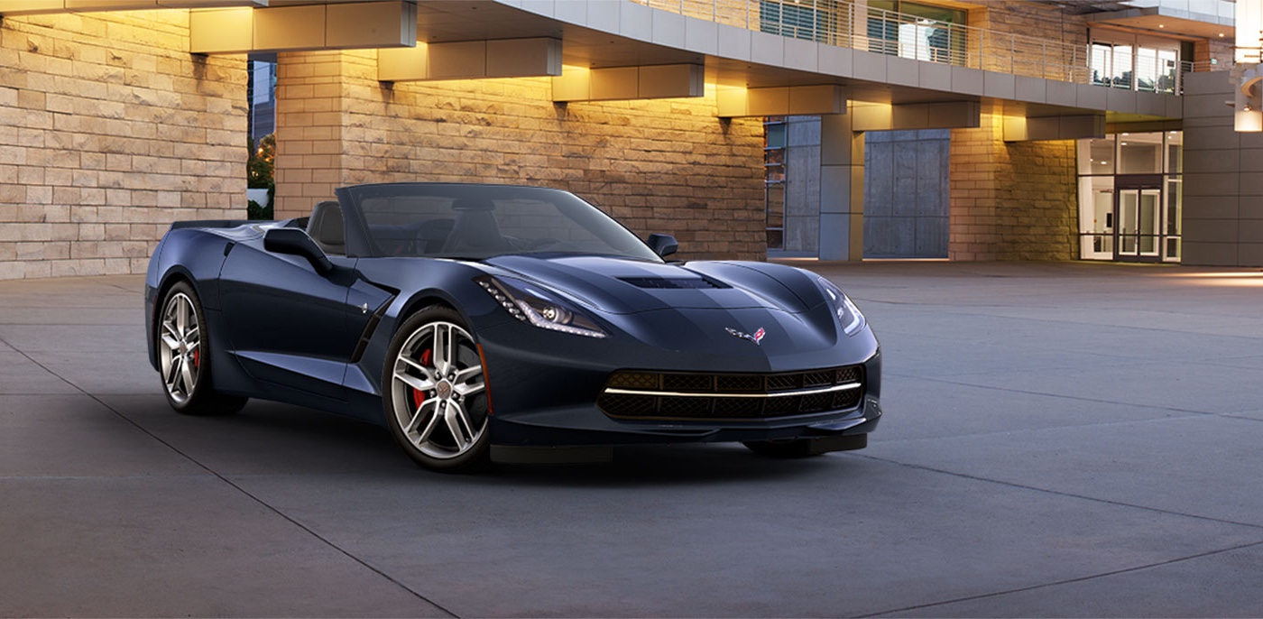 2015 Chevrolet Corvette Stingray Dark Exterior