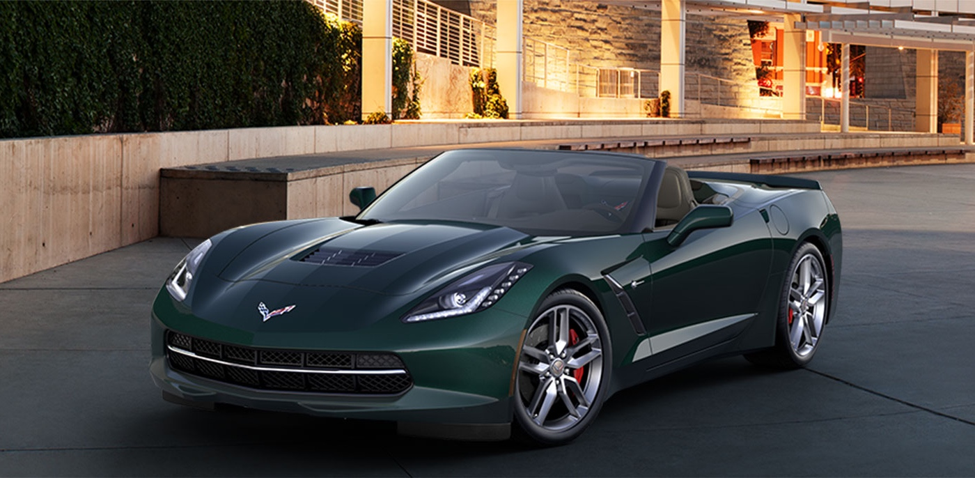 2015 Chevrolet Corvette Stingray Trims