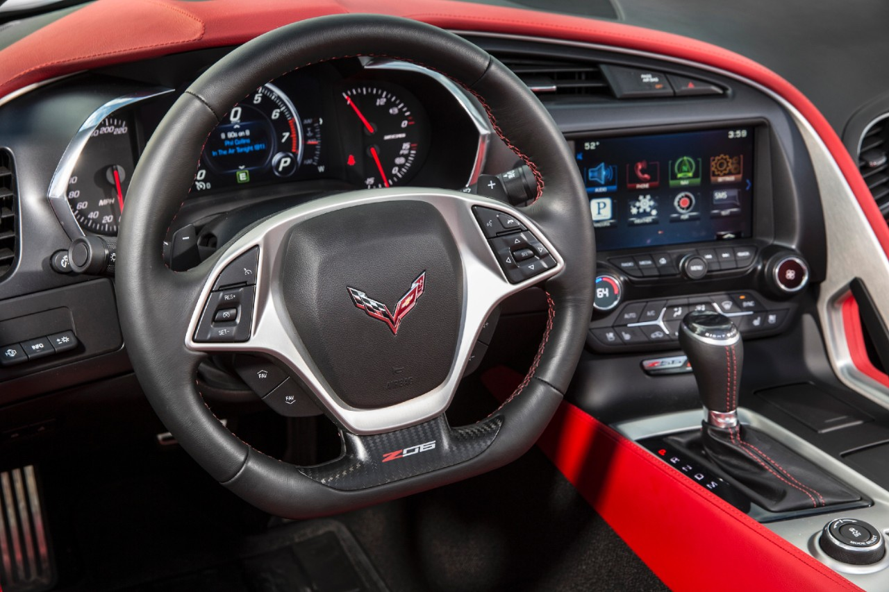 2015 Chevrolet Corvette Z06 Sleek Interior