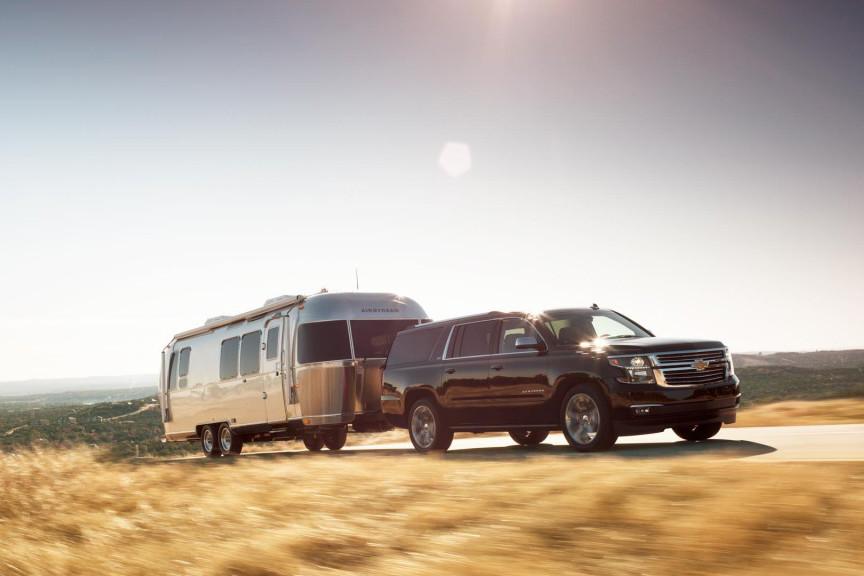 2015 Chevrolet Suburban Towing Trailer