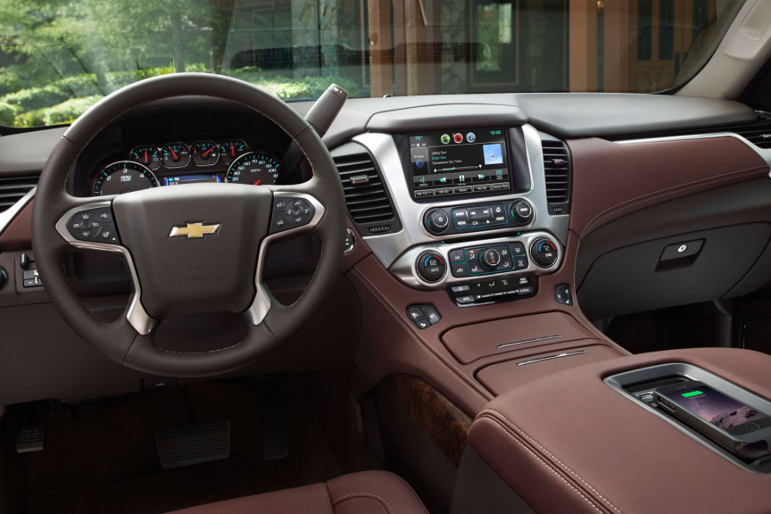 2015 Chevrolet Tahoe Safety