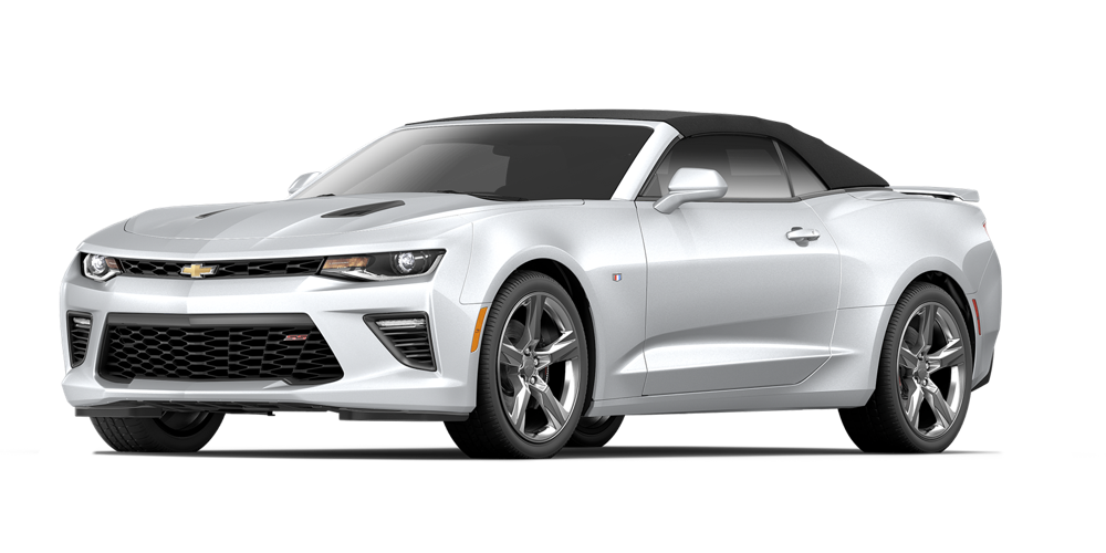 2016 Chevrolet Camaro white background