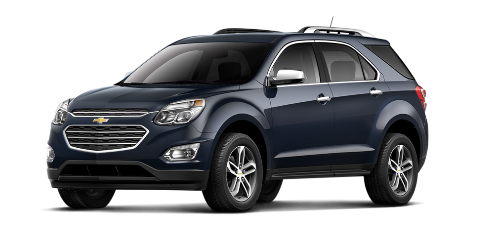 2016 Chevrolet Equinox dark blue exterior
