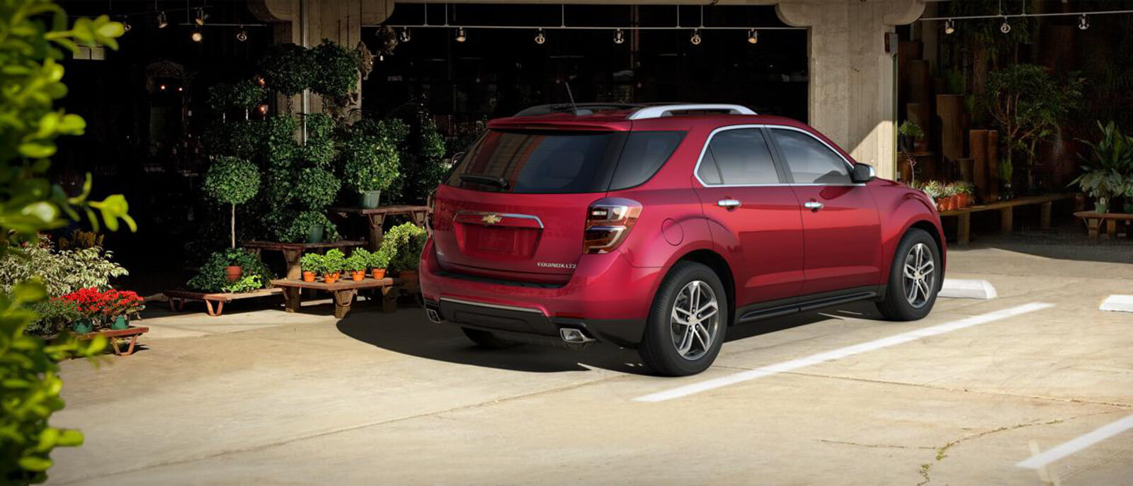 2016 Chevy Equinox Rear Exterior