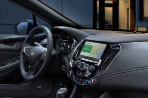 2017 Chevrolet Cruze interior features