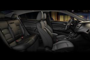 2017 Chevrolet Cruze Interior Seating