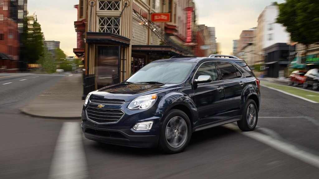 2017 Chevrolet Equinox on the road