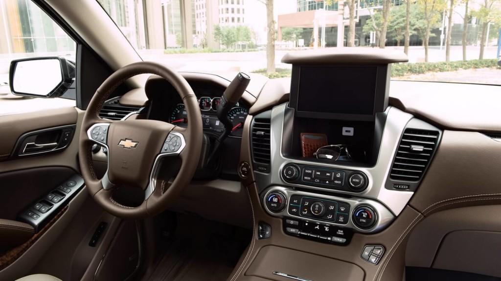 2017 Chevrolet Suburban front interior
