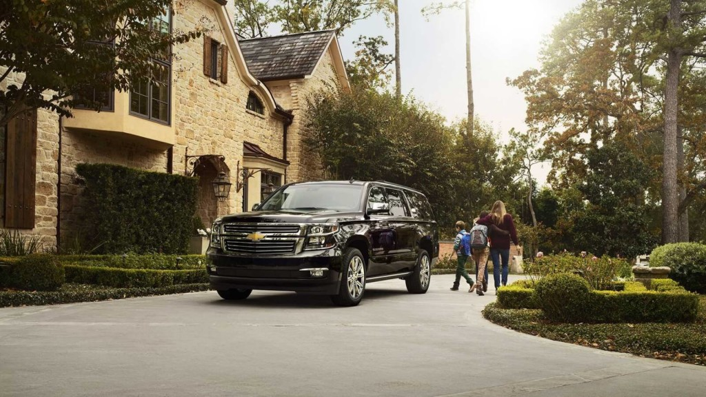 2017 Chevrolet Suburban dark exterior model