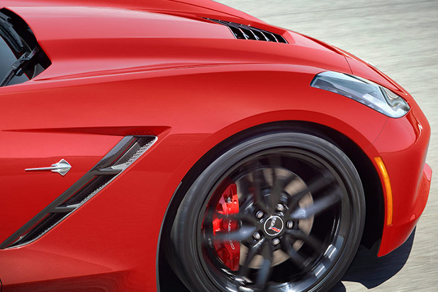 2016 Chevrolet Corvette Close-up Details