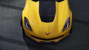 2016 Chevrolet Corvette Z06 yellow exterior
