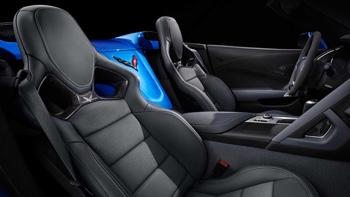 2016 Chevrolet Corvette Z06 interior features