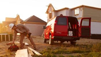 2016 Chevrolet Express Cargo Van exterior