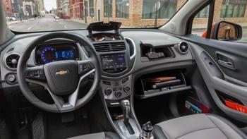 2016 Chevrolet Trax spacious interior