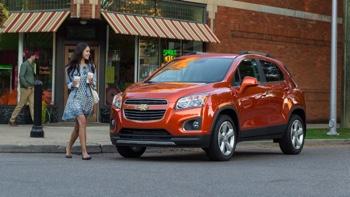 2016 Chevrolet Trax orange exterior
