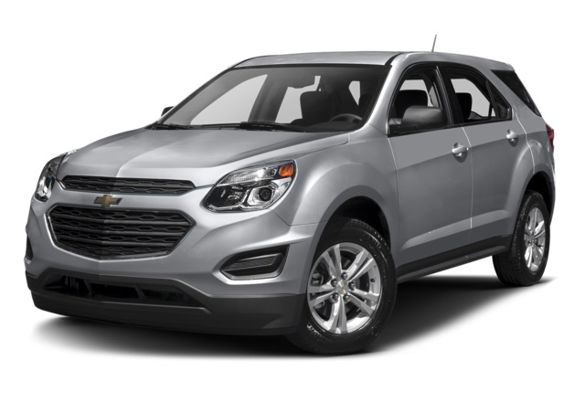 2016 Chevy Equinox Gray