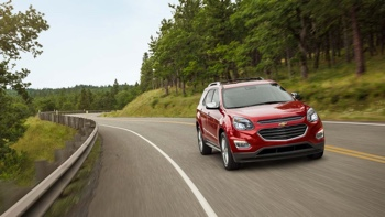 2016 Chevy Equinox red exterior