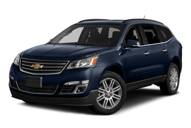 2016 Chevy Traverse Blue