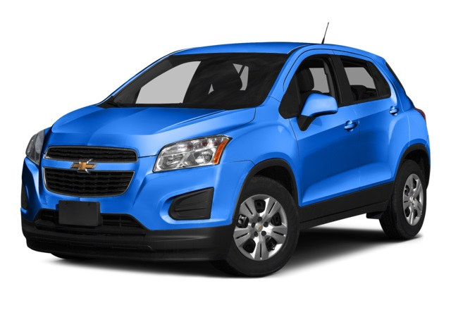 2016 Chevy Trax Blue