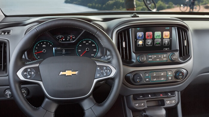 2017 Chevrolet Colorado available technology features