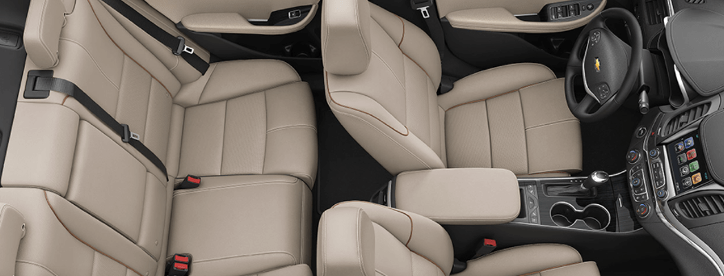2017 Chevrolet Impala interior seating