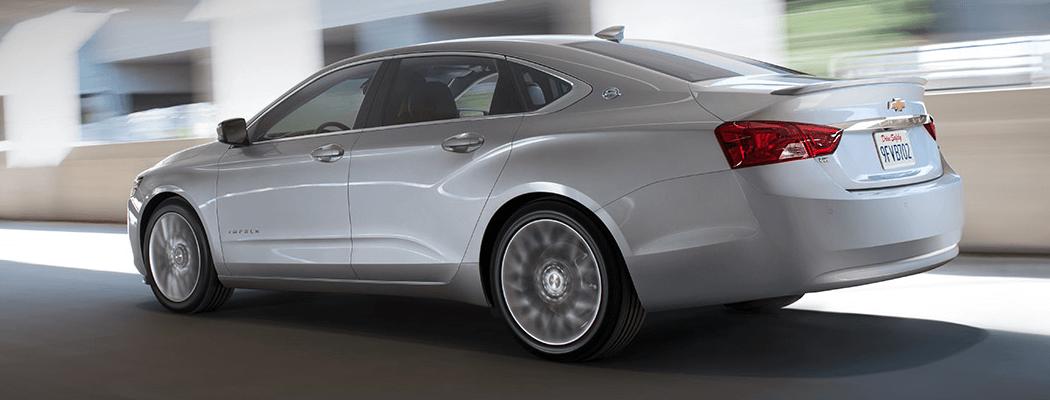 2017 Chevrolet Impala gray exterior