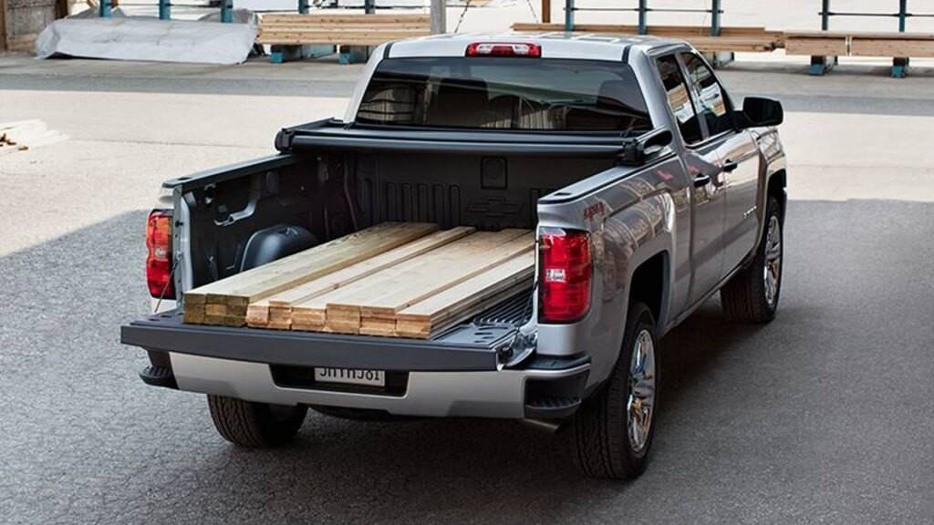 2017 Chevrolet Silverado 1500 bed design