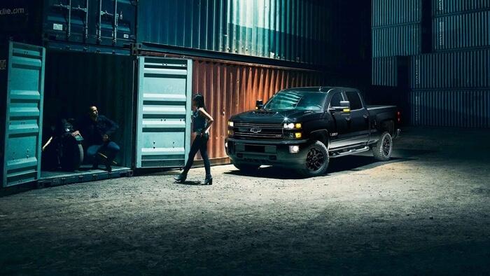 2017 Chevrolet Silverado 2500HD dark exterior model