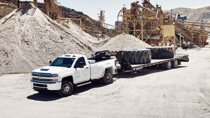 2017 Chevrolet Silverado 3500HD towing capabilities