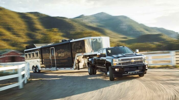 2017 Chevrolet Silverado 3500HD towing abilities