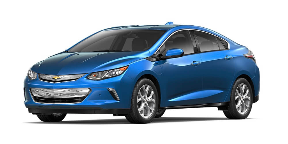 2017 Chevrolet Volt blue exterior model