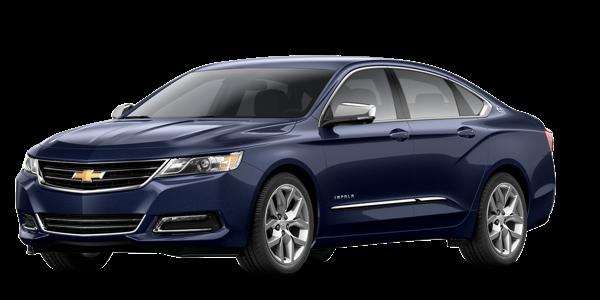 Blue 2016 Chevy Impala